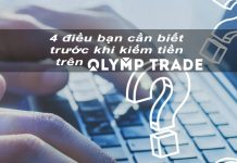 Những điều bạn cần biết trước khi kiếm tiền trực tuyến trên Olymp Trade