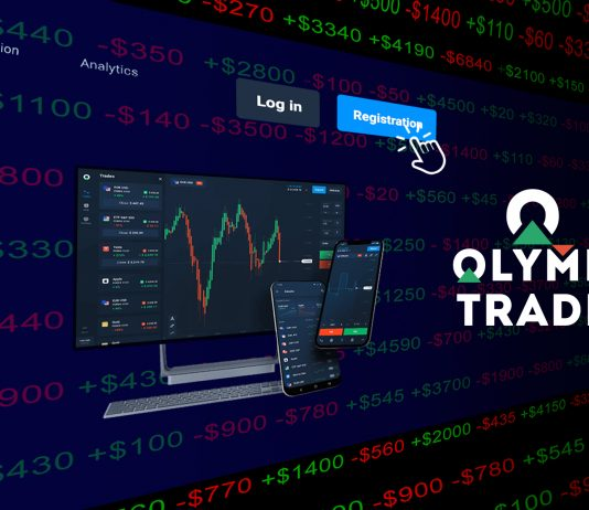 How to create account Olymp Trade on Traderrr