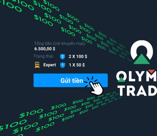 Hướng dẫn nạp tiền vào tài khoản Olymp Trade Việt Nam