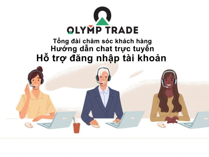 Liên hệ tổng đài chăm sóc khách hàng Olymp Trade