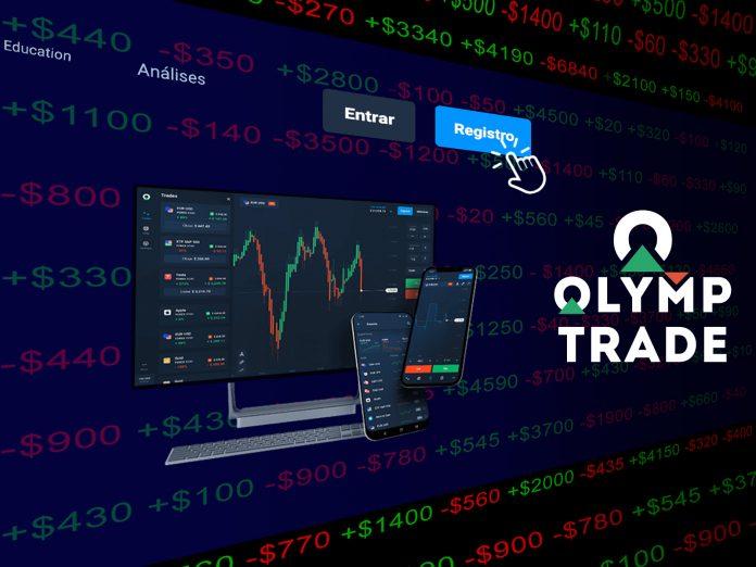 Como criar uma conta na Olymp Trade. Ative a conta e ganhe 10,000