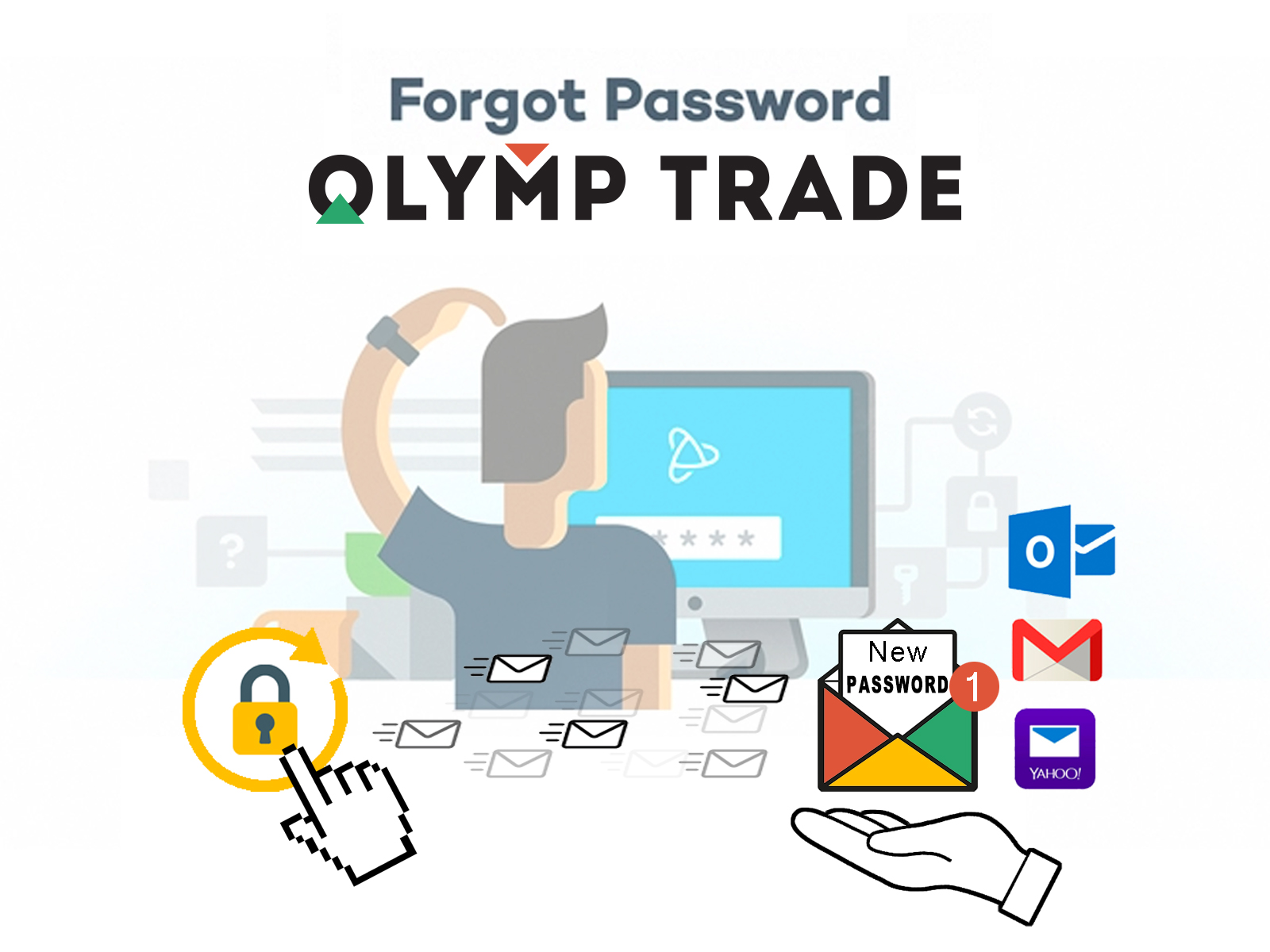 How to recover password on Olymp Trade - Make money with OlympTr