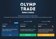 Upgrade VIP your Olymp Trade Account