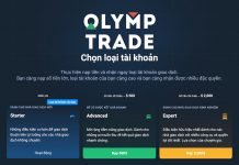 Hướng dẫn nâng cấp VIP Expert Olymp Trade