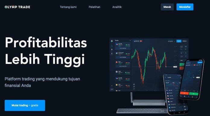 Panduan Cara login Olymp Trade Indonesia