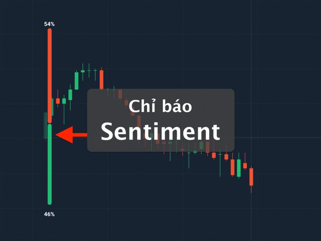 Chỉ báo Sentiment là chỉ báo số đông, cho thấy xu hướng của thị trường đang mua hay đang bán nhiều hơn
