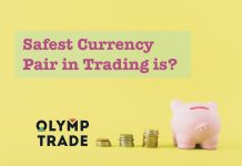 Safest currency pair trading on Olymp Trade