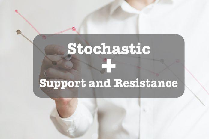 Hướng dẫn chỉ báo Stochastic kết hợp Hỗ trợ và kháng cự