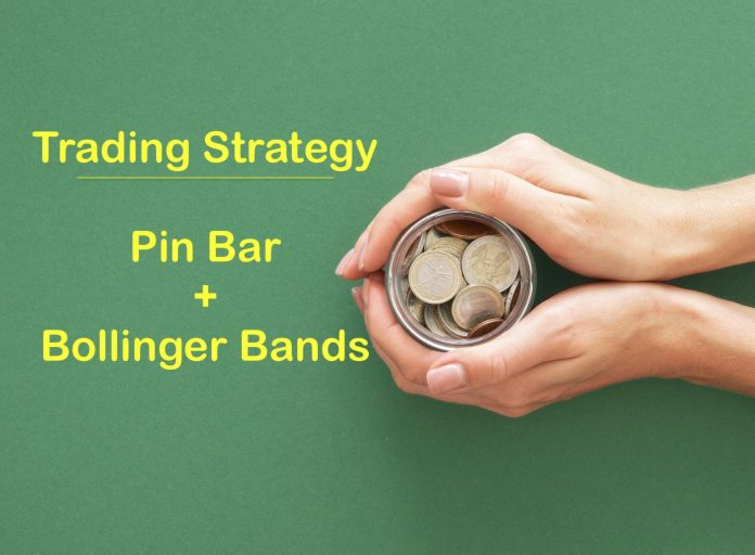 Combine pinbar with Bollinger Bands - Trading Strategy